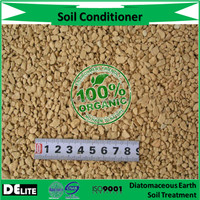 Organic Beneficial! Fossil Shell Flour Celatom Diatomite/ Diatomaceous Earth Soil Fertilizer for Agricultural Growing