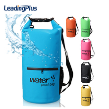 20L OEM Customize Outdoor PVC IPX6 Waterproof Dry Bag Durable Lightweight Diving floating Camping Hiking Backpack Swimming Bags