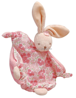 hot sale bunny plush soothers toy baby dolls with blossom