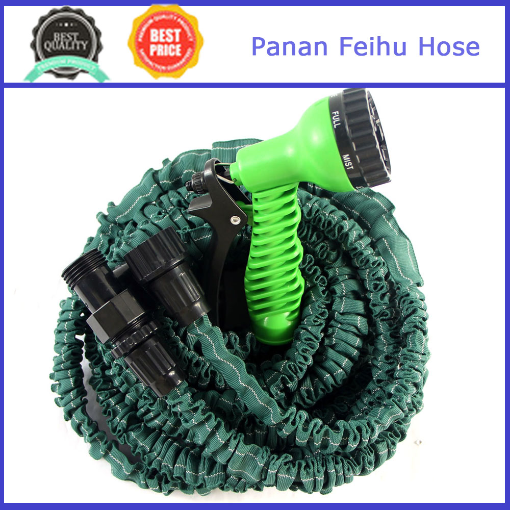 New design stretch water hose/flexiable hose/garden hose water flow meter