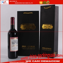 Professional factory supply wine paper packaging bag