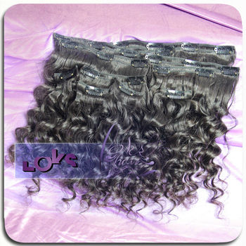 2016 new 6a cheap 100% virgin human clip in hair extensions whole