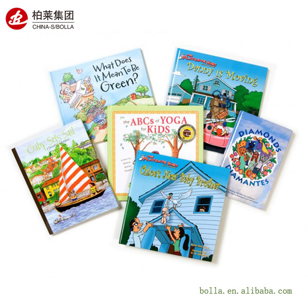 Professional Printing Children Book Hardcover Manufacturer in China