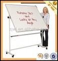 China manufactuer Moveable revolve conference aluminum double sided white board