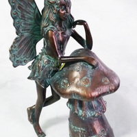 Home Amp Garden Fairy Statue In