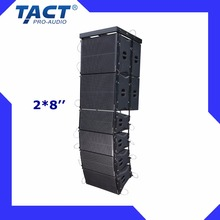Double 8 inch China Supplier Hot Selling High Quality china line array active speakers
