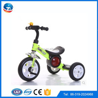 2015 Best selling Cheap Baby Tricycle new models, plastic motorised electric tricycle with light and music for kids,