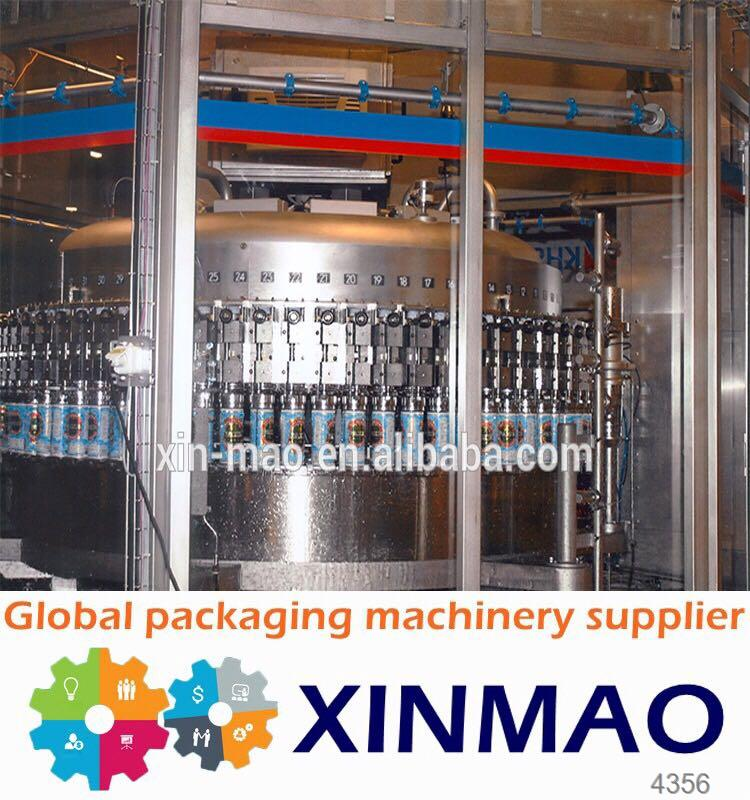 Gold Supply juice/tea hot filling machine /juice hot filling line