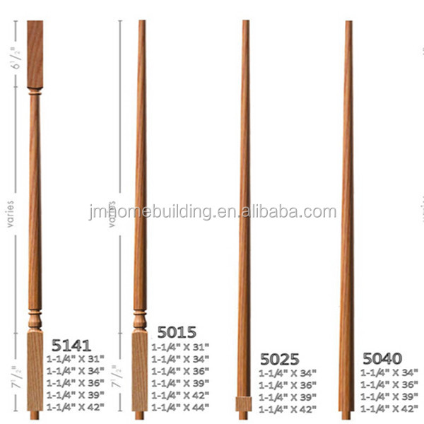 Premium Qualified Wooden Stair Spindles/Baluster #4615