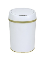 office small steel solid dustbins waste container