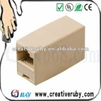 RJ45 F/F LAN Network Inline Splitter Extender Coupler/direct connection adapter