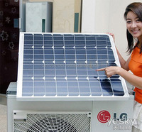 2015 Mono and Poly solar panel for air conditioner for home