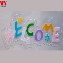 Customize Letter WELCOME Window Sticker decals for Easter holiday