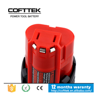 For Milwaukee 48-11-2411 M12 Power Tool Battery 10.8V 1.5Ah 1500mAh Lithium Li-Lon Rechargeable Battery