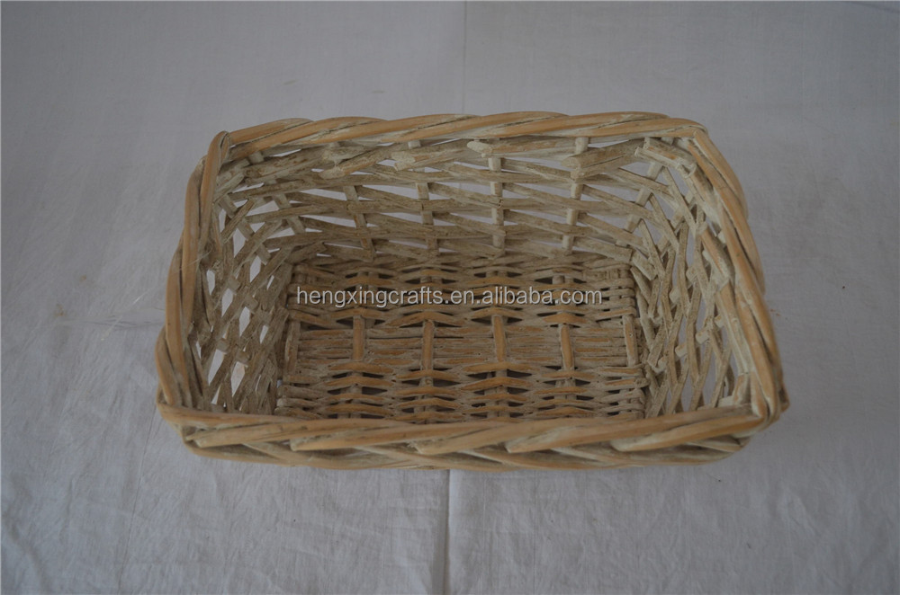 Cheap Home Furniture Willow Wicker Basket Made in China