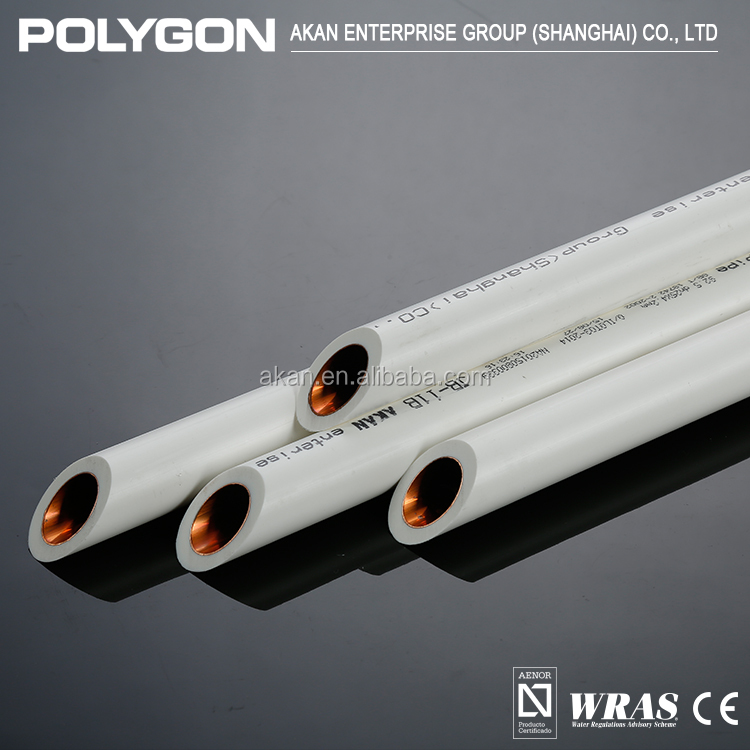 China Factory High Quality Plastic Polygon Small Diameter Water Supply Ppr Pipe