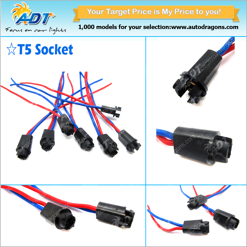 T auto led bulb socket buy