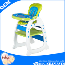 Beautiful and good quality baby feeding high chair for restaurant