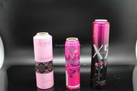 Aluminium Aerosol Spray Can for cosmetic lotion cream
