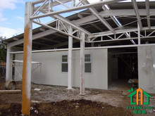 HOT sale family house prefabricated residential building VH-109735F