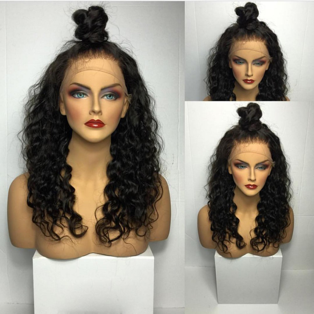 Brazilian remy human indian women hair wig