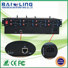 Top selling high quality 4G and 3G 8 port Modem with RJ45 Ethernet modem pool