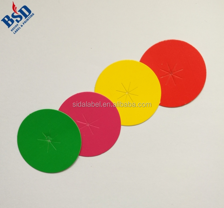 Color Coding StrongLabel Strong Round Writable Colorful Stickers Circle Adhesive
