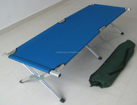 yongkang hot sell 600D polyester+steel or aluminum tubes metal bed frame