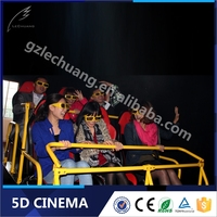 8D/9D/XD Cinema 3D Glasses 5D 6D 7D Motion Theater Equipment Cinema Seating
