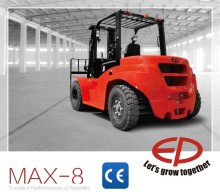 EP new MAX-8 series Diesel Forklift 7 ton CPCD70T8 with Janpanese engine and optional lifting height
