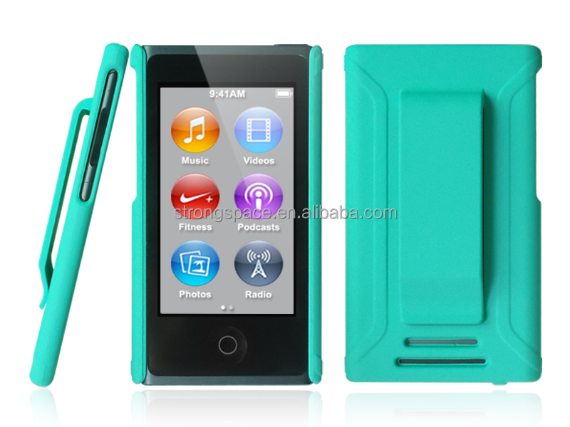 Colorful factory price pc case for ipod nano 7