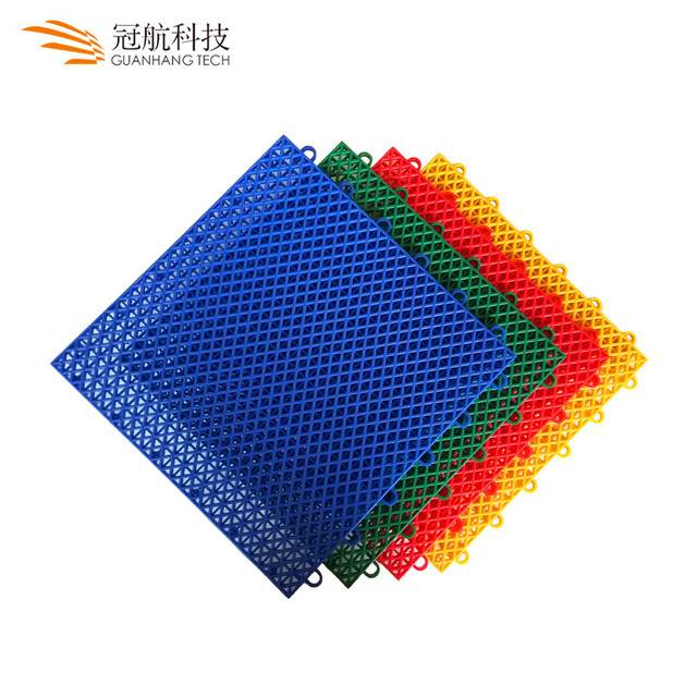 Hot selling pp plastic professional basketball court sports surfacing covering