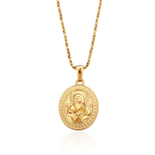 31893 Xuping Fashion 18K Gold Plated custom <strong>pendant</strong>, Virgin Mary Jewelry Gold <strong>Pendant</strong>
