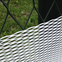 Price list aluminum expanded metal screen window screen 1.8mm thickness black color powder coated from factory