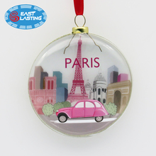Wholesale clear Christmas balls bulk tree ornament craft ornaments holiday decoration