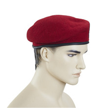 Basics winter knitted hats and berets for men
