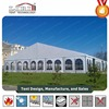 PVC coated outdoor new party tent for events with clear windows