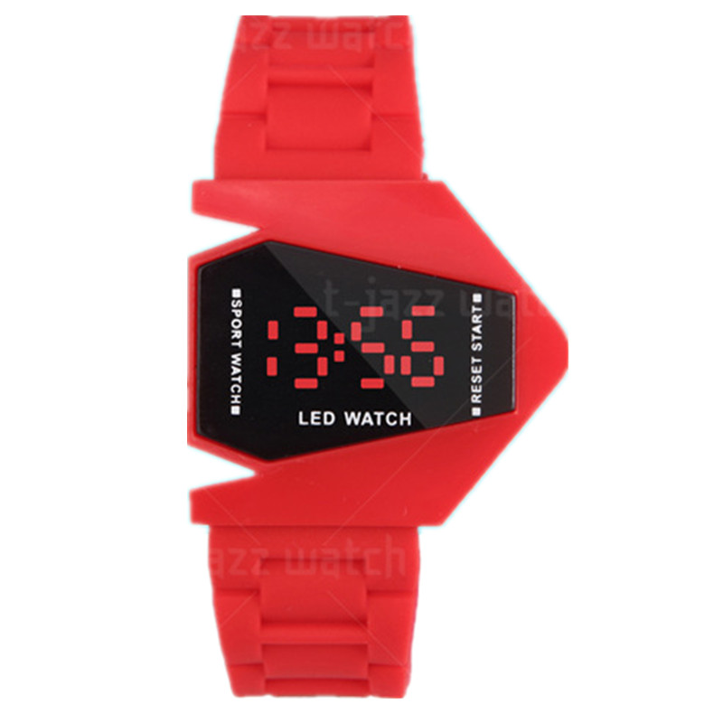 online shopping silicone Led watch free samples rubber band bracelet watches