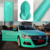 Long lifespan high glossy cream lake green color car pvc vinyl film