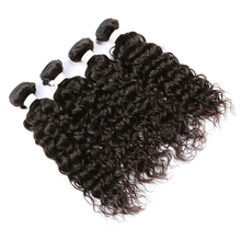 Pure Indian Temple Hair Water Wave Brazilian Human Hair Weave