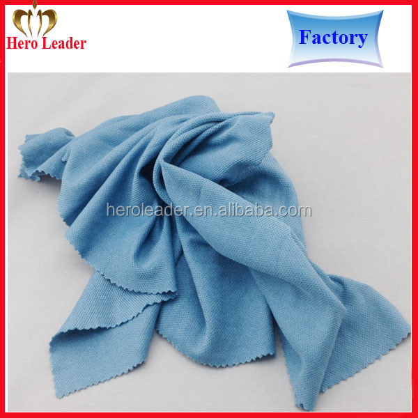 China factory super absorbent microfiber window cleaning cloth