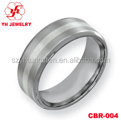 8MM Comfort Fit Cobalt Chrome Wedding Band For Men&Women Friendship Rings