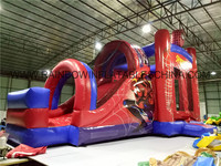 Customized Theme Or Design Bouncer Slide Combo, Bouncers Inflatable Combo