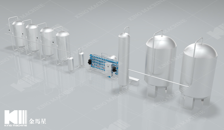 Efficient Water Filter Machine Price/Water Treatment Plant With Reverse Osmosis