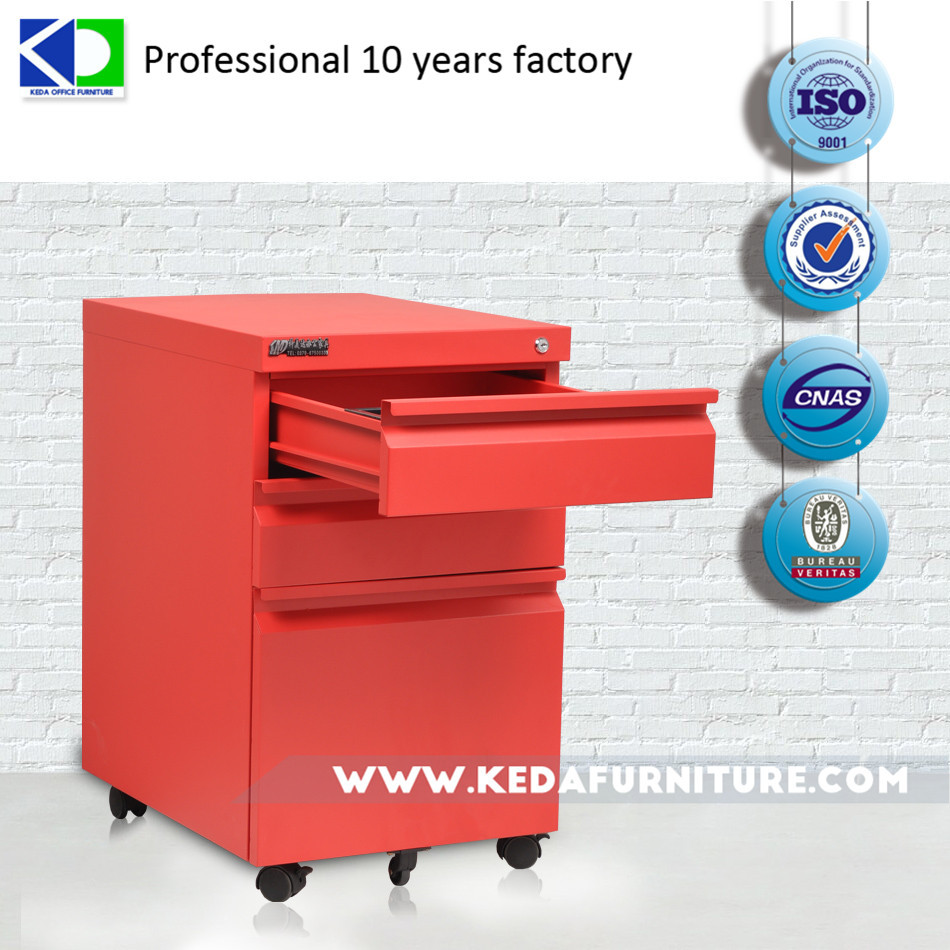 kd metal small movable steel filing cabinet
