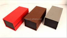 Matt laminated black packaging gift boxes shaped like books