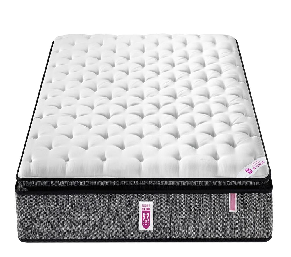 Knitting fabric bedroom furniture cheap queen size king memory foam mattress at 20 cm height - Jozy Mattress   Jozy.net