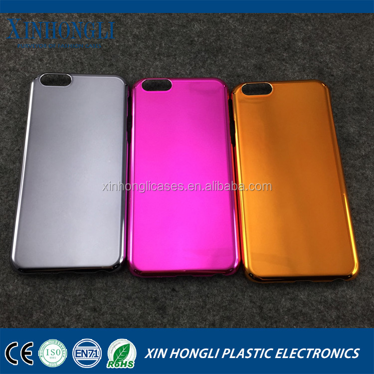 Deluxe Electroplating Hard Case for iPhone 6 cellphones accessories for iPhone
