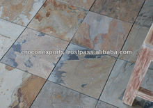 Indian Autumn Slate Tile & Slab