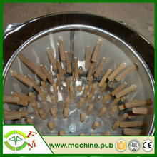 Stainless steel rubber fingers for plucker